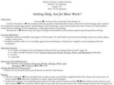 Getting Help, but for More Work? Lesson Plan