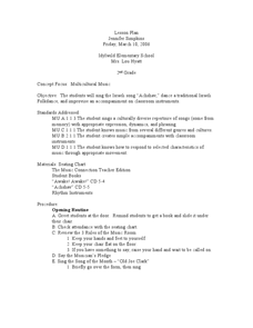 music lesson plans reviewed by teachers