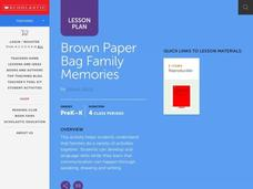 Brown Paper Bag Family Memories Lesson Plan