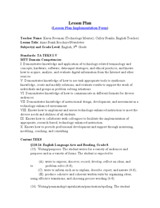 anne frank lesson plan Conflicts in the diary of anne frank a systems thinking/system dynamics lesson plan grade level/subject: 8th grade language arts teacher: pat strickland, (conflict matrix adapted from an original core team.