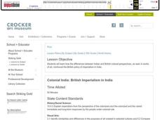 British Imperialism in India Lesson Plan