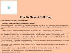 How to Make a Chili Dog Lesson Plan