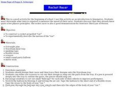 Rocket Racer Lesson Plan