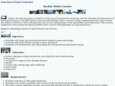 Rockin Roller Coaster Lesson Plan