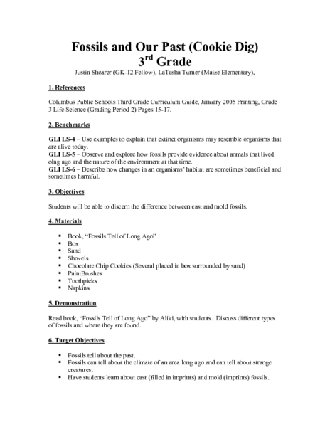 4th Grade » Fossils Worksheets For 4th Grade - Free Printable ...