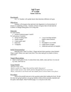 Soil Types Lesson Plan