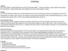 Civil War Internet Research Lesson Plan