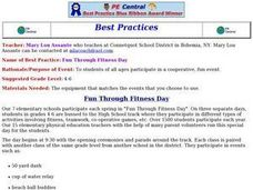 Fun Through Fitness Day Lesson Plan