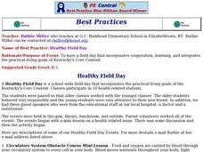Healthy Field Day Lesson Plan
