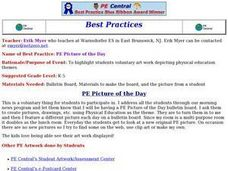 PE Picture of the Day Lesson Plan