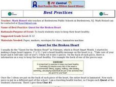 Quest for the Broken Heart Lesson Plan