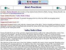 Environment: Valley Walk-A-Thon Lesson Plan