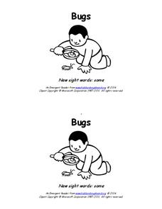 Bugs Worksheet