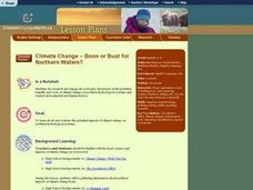 Climate Change-Boon or Bust for Northern Waters? Lesson Plan