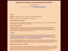 Social Studies: Religions and Folktales of India Lesson Plan
