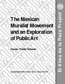 The Mexican Muralist Movement Lesson Plan