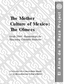 The Mother Culture of Mexico:  The Olmecs Lesson Plan