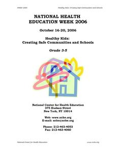 Healthy Kids: Creating Safe Communities And Schools Lesson Plan