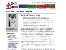 Exploring Women's History Lesson Plan