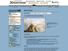 Tell a Migration Story with Maps Lesson Plan