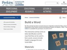 Build a Word Lesson Plan