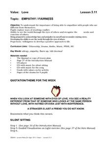 Empathy/Fairness Lesson Plan