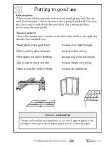 Building a House Worksheet