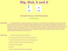 "Big, Bad, ""B"" and ""D"" Lesson Plan"