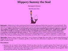 Slippery Sammy the Seal Lesson Plan