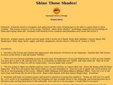 Shine Those Shades! Lesson Plan