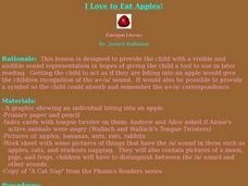 I Love to Eat Apples! Lesson Plan