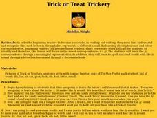 Trick or Treat Trickery Lesson Plan