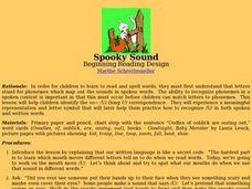 Spooky Sound Lesson Plan