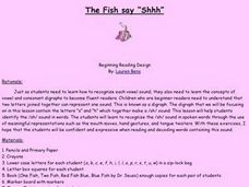 The Fish Say Shhh Lesson Plan