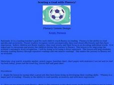 Scoring a Goal with Fluency! Lesson Plan