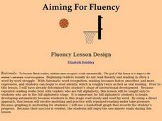 Aiming For Fluency Lesson Plan