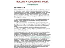 Building A Topographic Model Lesson Plan