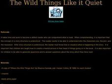 The Wild Things Like it Quiet Lesson Plan