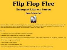 Flip Flop Flee Lesson Plan
