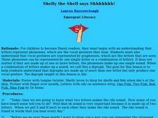 Shelly the Shell Lesson Plan