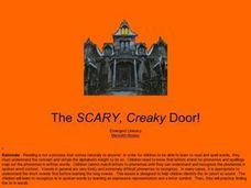 The Scary, Creaky Door Lesson Plan