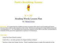 Pooh's Rumbling Tummy Lesson Plan