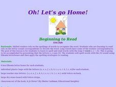 Oh! Let's Go Home Lesson Plan