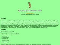 Up, Up, Up The Banana Tree Lesson Plan
