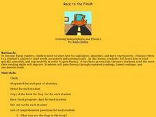 Race To Finish Lesson Plan