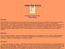 Only the Facts Lesson Plan