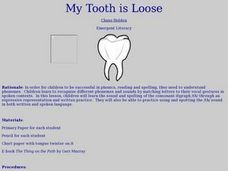 My Tooth is Loose Lesson Plan