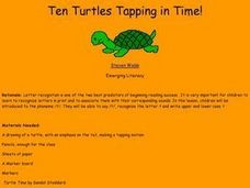 Ten Turtles Tapping in Time Lesson Plan