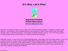 It's May, Let's Play! Lesson Plan