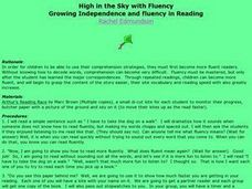 High in the Sky with Fluency Lesson Plan